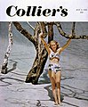 Copy showing the photographer's daughter Lois Duncan Steinmetz on the 1949 cover of Collier's magazine.jpg