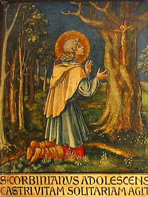 Corbinian - Image: Corbinian panel young