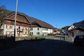 Corcelles, Bern - Corcelles village