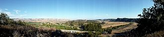 Rancho Corral de Piedra - Corral de Piedra panorama facing southeast