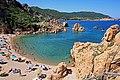 Costa Paradiso, spiaggia di Li Cossi - panoramio - Carlo Pelagalli.jpg