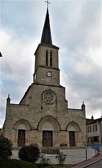 Coublanc (Saône-et-Loire) église, façade.jpg
