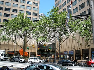 Collins Place - Image: Cpviewfromcollinsstr eet