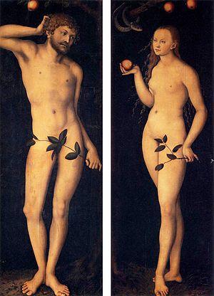 Adam and Eve (Cranach) - Image: Cranach, adamo ed eva, uffizi