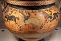 Cratere corinzio a colonnette con cavalieri in corsa e scena di danza, 600-500 ac ca. 02.jpg