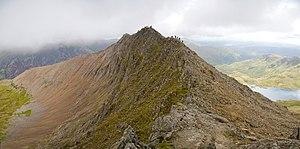 Arête - Crib Goch, Snowdonia, is an arête.