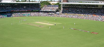 The Sydney Cricket Ground at the 4th Australia vs India test, 2004 Cricket SCG Australia v India, Jan 2004.jpg