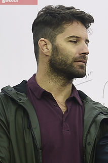 Cristián Arriagada Chilean film, television, and theater actor