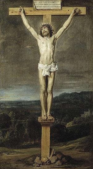 Cristo En La Cruz Velázquez Wikipedia La Enciclopedia Libre