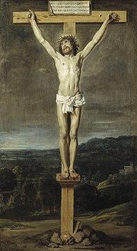 Cristo en la cruz - Vel?zquez