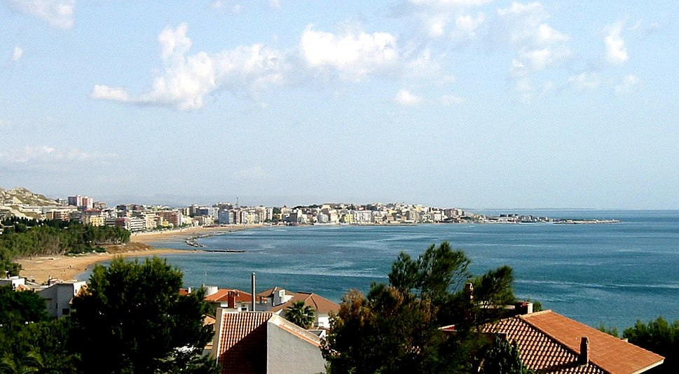 Panorama of Crotone