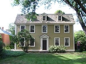 Essex Institute Historic District - Crowninshield-Bentley House