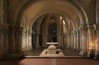 Crypte Saint Eutrope Saintes Choeur Charente-Maritime.jpg