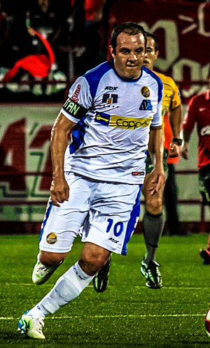 Cuauhtémoc Blanco - Blanco playing for Dorados de Sinaloa in 2012.