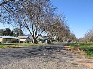 Cudgewa, Victoria - The main street of Cudgewa