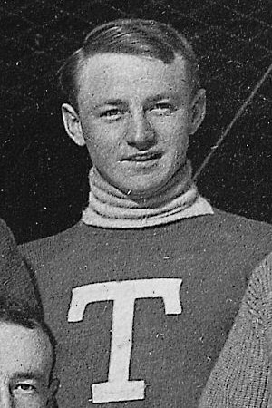 Cully Wilson - Cully Wilson with the Toronto Blueshirts in the 1913-14 season.
