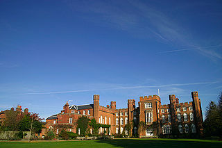 Cumberland Lodge country house in Windsor Great Park