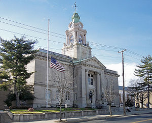 Bridgeton, New Jersey - The Cumberland County Courthouse in Bridgeton in 2006