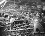 Curtiss Aeroplane and Motor Company Fuselage Department, Churchill Street, Buffalo, New York, August 23, 1918 (TRANSPORT 1149).jpg