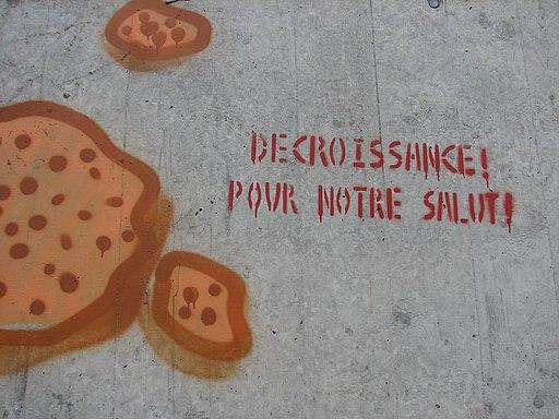 Décroissance graffiti