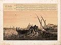 """Düsseldorfer Lieder-Album, Arnz & Co. 1851, S. 21 – """"Ave Maria"""" Gedicht von Emanuel Geibel, Komponist Robert Franz, Farblithografie nach Illustration von Andreas Achenbach.jpg"""