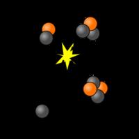 Фото 5. Термоядерные реакции на Солнце.  Атом.