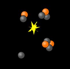 Schematische weergave van kernfusie