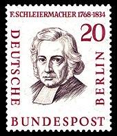 Briefmarke der Deutschen Bundespost Berlin (1958) aus der Serie Männer aus der Geschichte Berlins (Quelle: Wikimedia)