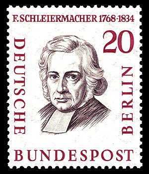 stamp series, men of the history of Berlin II,...