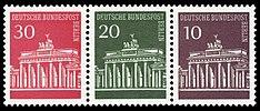 DBPB 1966 288,287,286 Brandenburger Tor Zusammendruck.jpg