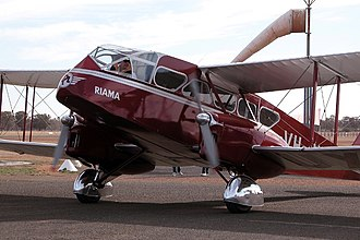 De Havilland Dragon - DH-84 VH-UXG (Riama), 2003