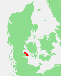 Lolland in Denemarken