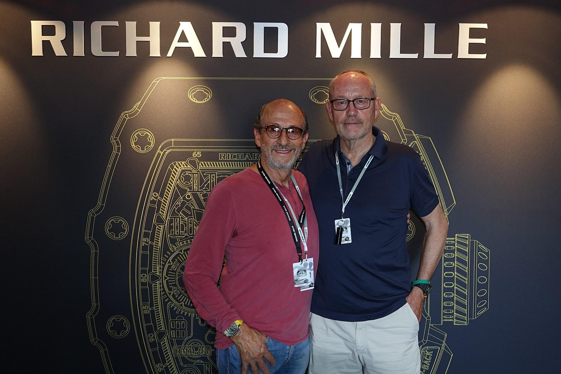 Lịch sử Richard Mille: Hai nhà sáng lập thương hiệu, Richard Mille và Dominique Guenat.