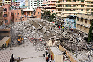 2013 Dar es Salaam building collapse