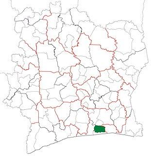 Dabou Department Department in Lagunes, Ivory Coast