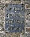Dahl plaque arrière crucifix op der Heckt.jpg