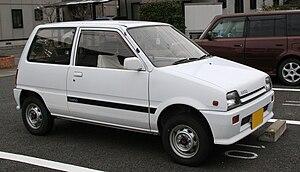 "Daihatsu Mira - Very late (1990) second generation Mira ""Parco"""