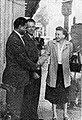 Dalip Singh Saund with voter, Aneka Amerika 102 (1957), p15.jpg