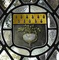 Damant Coat of Arms in St Andrews Church Lammas Norfolk.jpg