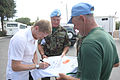Damien Duff and his brother Sergeant Gerry Duff visit the troops of the Irish 106 Battalion in Tibnine Lebanon (7514348468).jpg