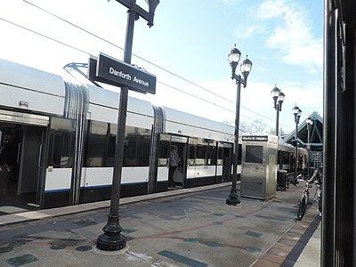 Danforth Avenue station