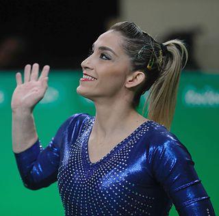 Daniele Hypólito Brazilian gymnast