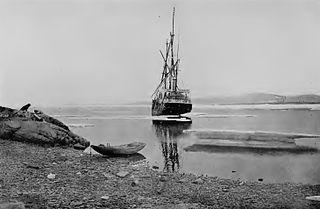 Danish arctic expedition ship