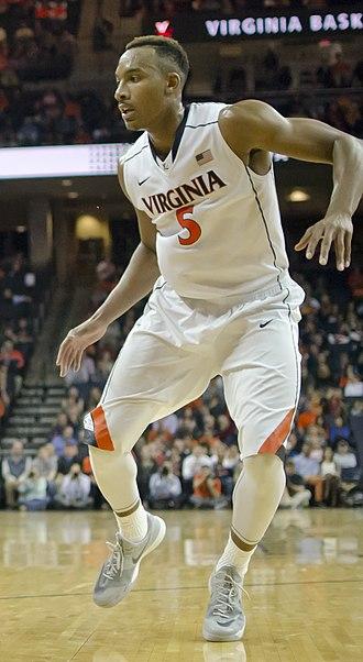 2014–15 Virginia Cavaliers men's basketball team - Image: Darion Atkins