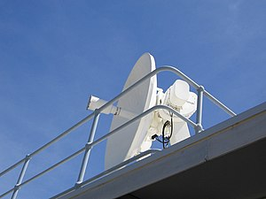 Weather radar - Weather (WF44) radar dish