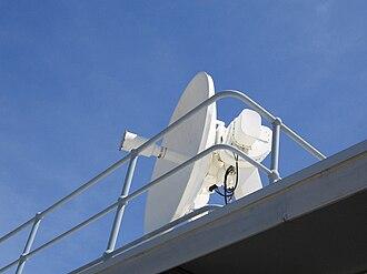 Weather radar - Weather (WF44) radar dish