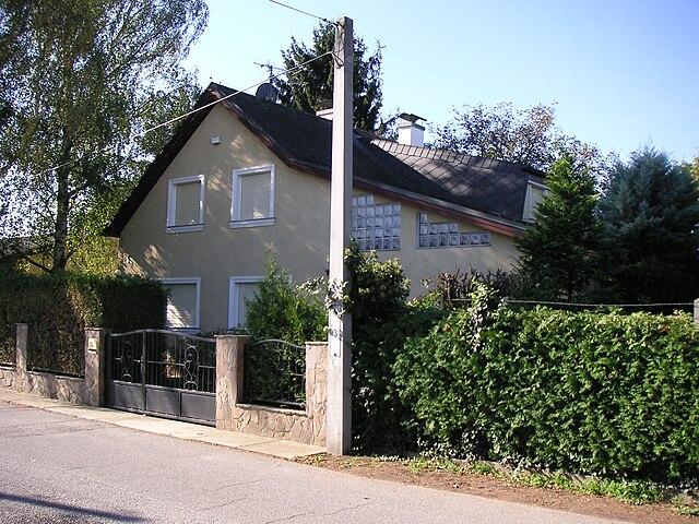 Wolfgang P?iklopil's house in Strasshof