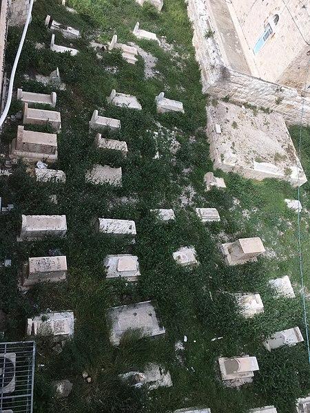 File:David's Tomb Islamic Cemetery 3.jpg