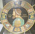 David Zipiroc piatto con ritratto di guerriero (da Andrea Mantegna).jpg