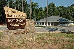 Davy Crockett National Forest sign.jpg